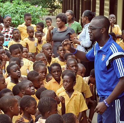 Ghana-Future-Stars-training
