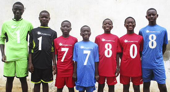 Futurestars achieves UK Charity Registration